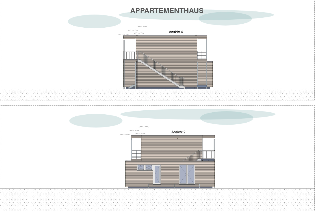 Projekt Lindenberg, Appartementhaus, Grundwert Bayern